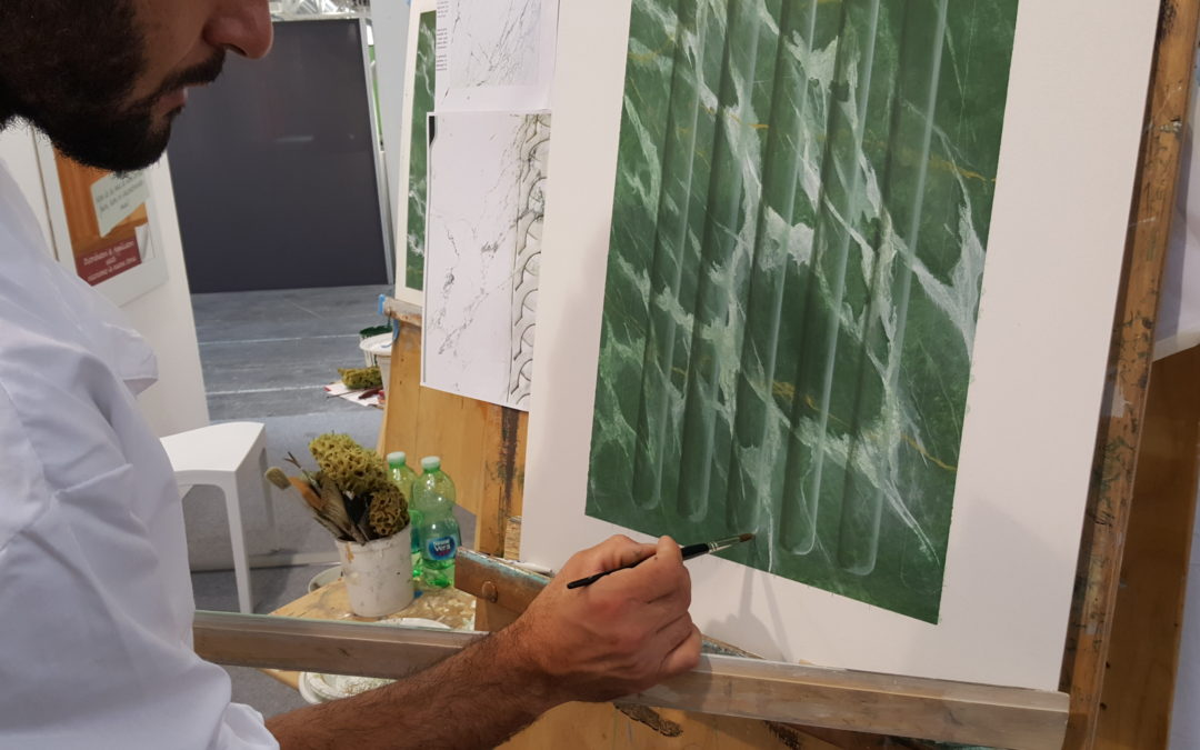 La tecnica del marmo pittorico