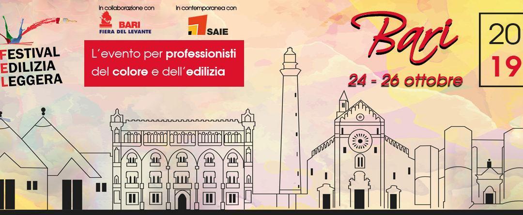 FEL 2019 : Sarà Bari la città del colore!