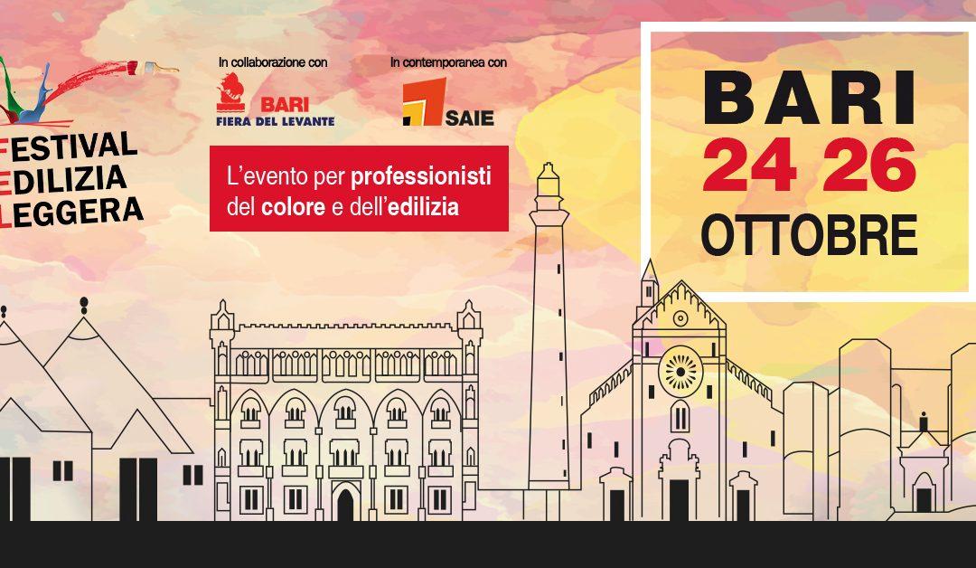 FEL Bari 2019: in Puglia il colore incontra l'edilizia
