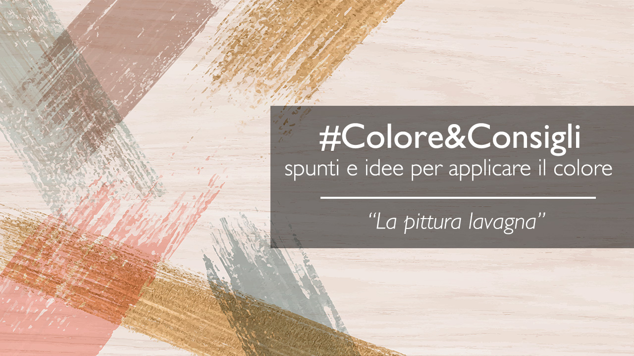 Vernice Lavagna Magnetica Colorata la pittura lavagna: idee utili su come utilizzarla - fel