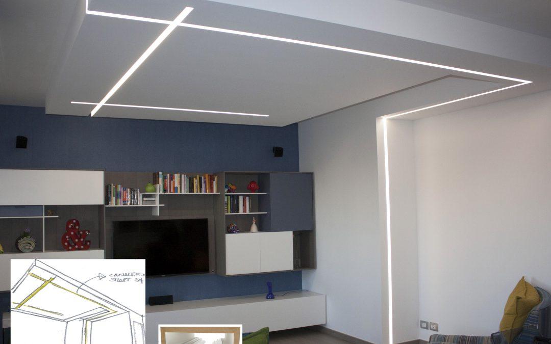 Nuovi effetti e tagli di luce con Canaletto Smart