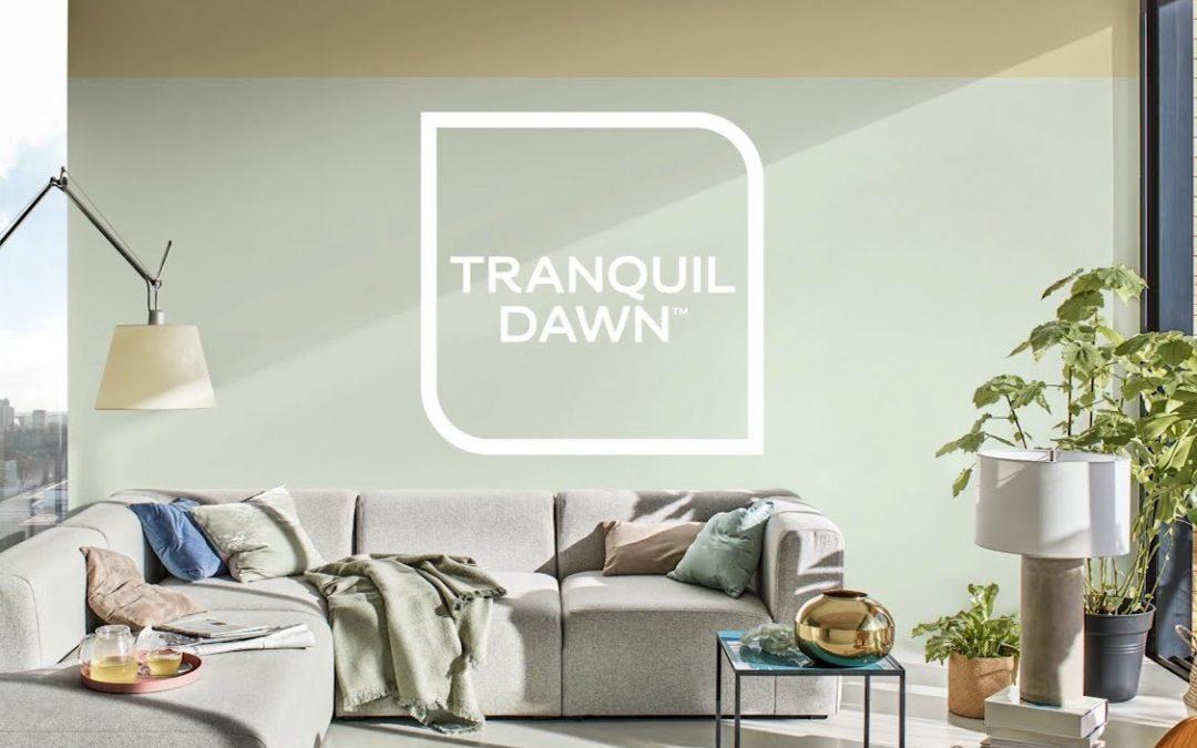 Tranquil Dawn è il colore dell'anno 2020 per Sikkens