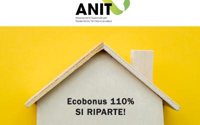 ANIT: Ecobonus 110 % SI PARTE!