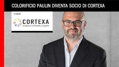 Colorificio Paulin diventa socio di Cortexa